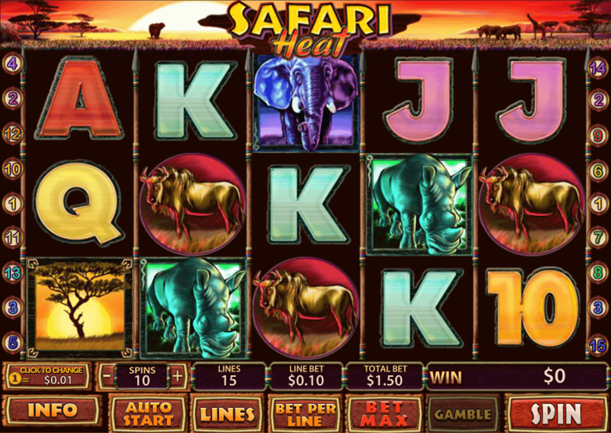 Safari Heat Slot - 429603