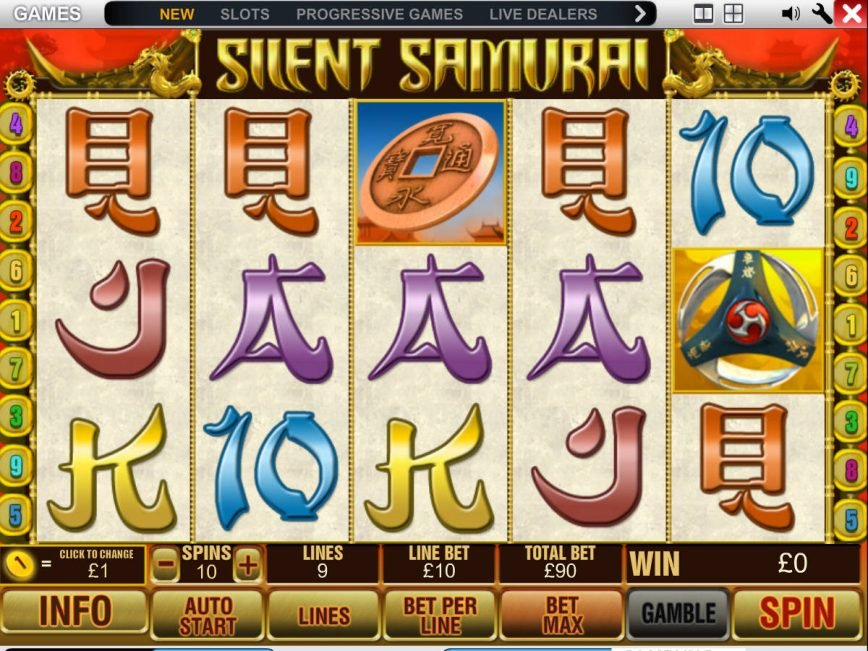 Silent Samurai Slot - 144882