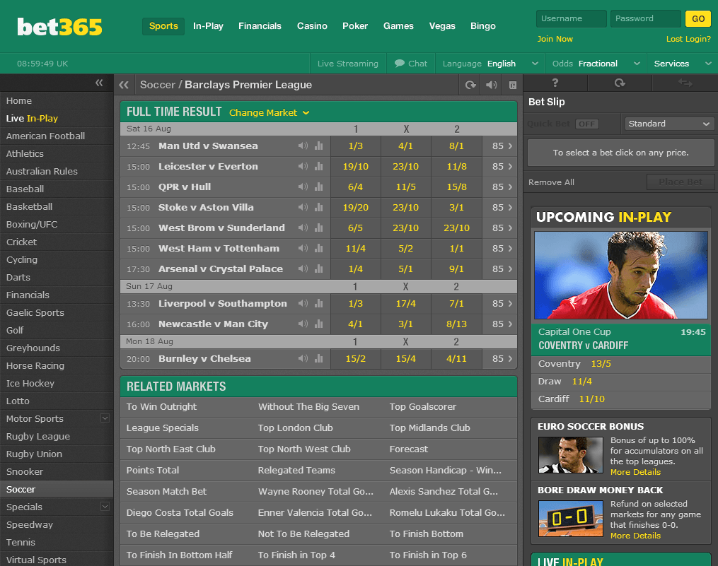 Wagering Requirements Bet365 - 809991